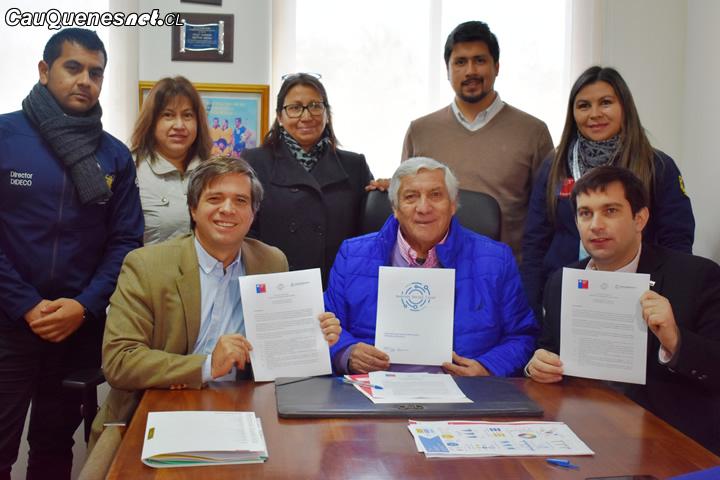 Cauquenes y san Clemente se suman a nuevo modelo de gestión social