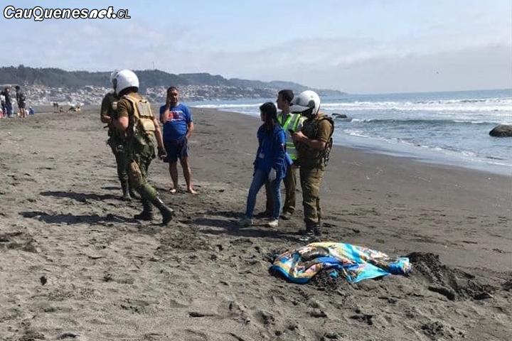 #Pelluhue: Encuentran a mujer sin vida en desembocadura del Río Mariscadero