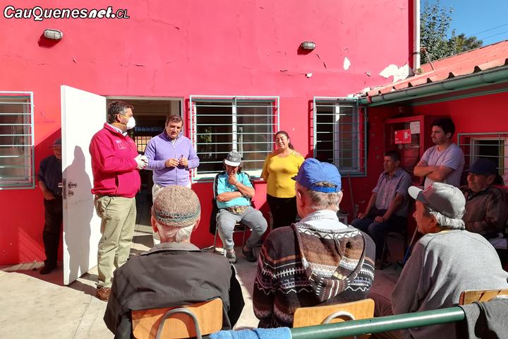 Agricultores de Cauquenes acogen llamado de Gobernación para ir en ayuda de Hogar de Cristo