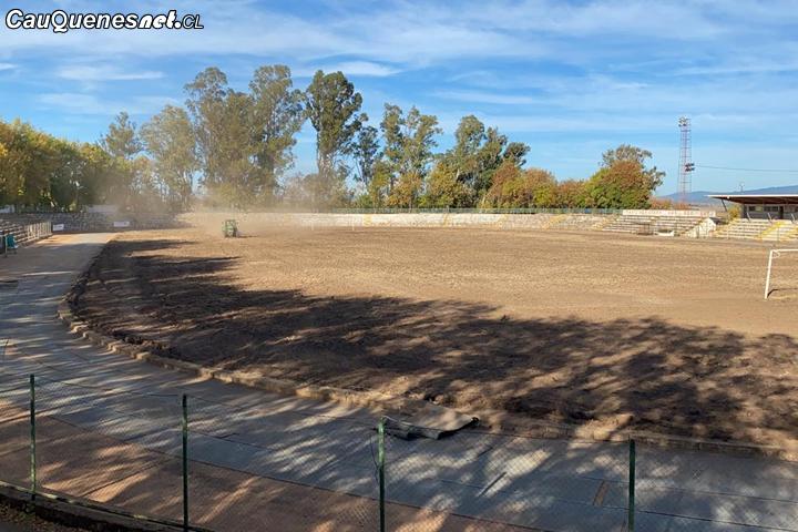 Cauquenes: Estadio Fiscal Manuel Moya Medel comenzará su remodelación