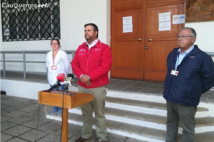 """Gobernador de Cauquenes hace llamado a  respetar el  """"toque de queda"""""""