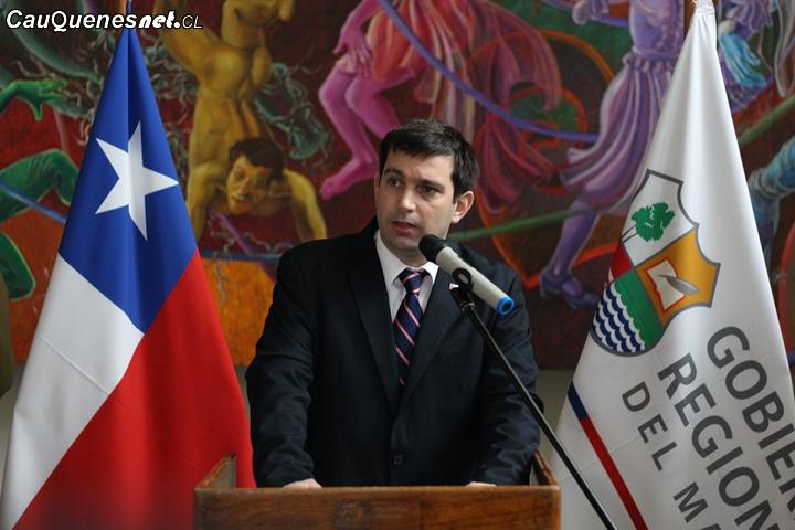 """Intendente del Maule, Juan Eduardo Prieto: """"Tenemos cifras esperanzadoras en cuanto a recuperación de empleos en nuestra región"""""""