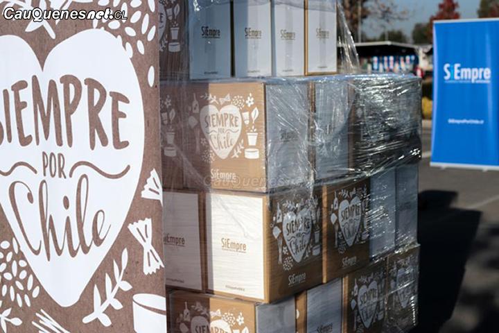 Municipio informó que hizo entrega de cajas de alimento a familias de programa vínculos