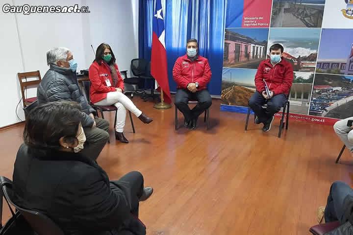 Intendente   Prieto realiza su primera visita oficial a Cauquenes y se reúne con autoridades locales