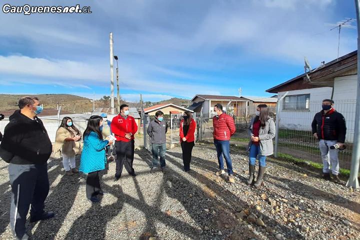 Cauquenes: MOP mejorará sistema de Agua Potable Rural de la localidad de Sauzal