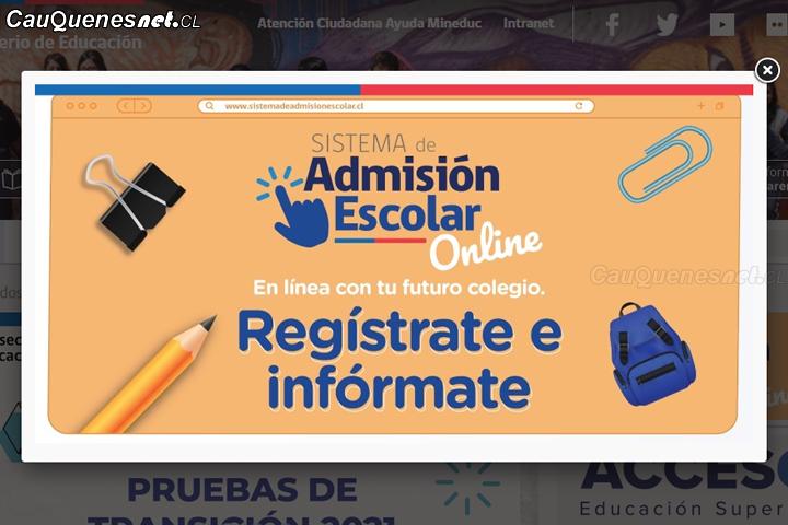 Con gran uso de recursos on line parte en el Maule postulación al Sistema de Admisión Escolar