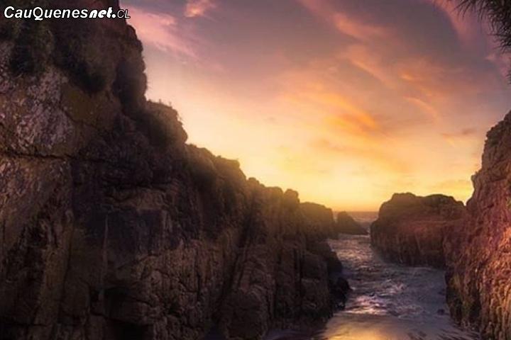 """Arcos de Calán en Pelluhue """"será el primer santuario marino costero de la Región del Maule"""""""