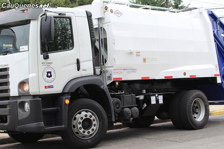 #Chanco contará con nuevo camión recolector de basura