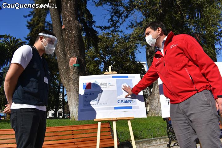 #Casen 2020 inicia con fase de pre contacto y se aplicará en 4 mil 100 hogares maulinos