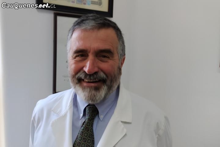 El doctor Gabriel del Río es el nuevo director (s) del Hospital de Cauquenes