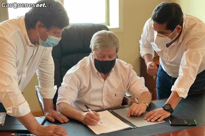 Candidato a Gobernador Regional George Bordachar recibe apoyo de Chile Vamos