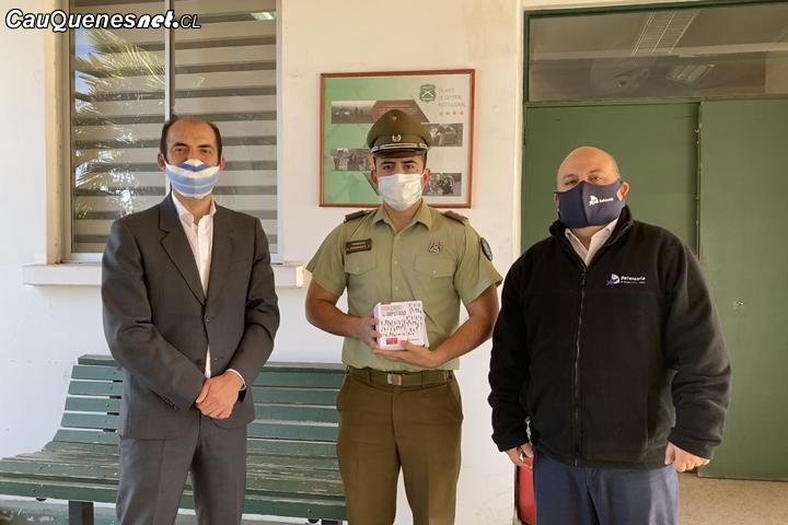 Defensoría Regional del Maule difunde derechos de detenidos e imputados en cuarteles policiales de la región
