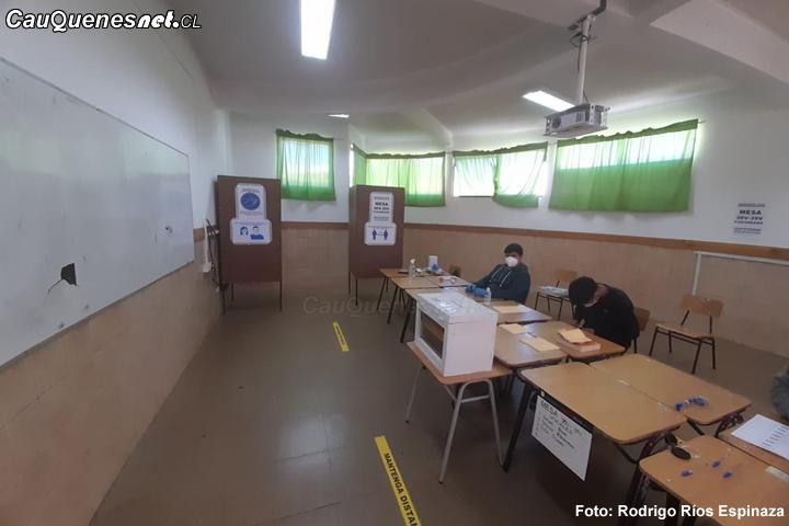 Poco entusiasmo por participar en primarias de Gobernador Regional en Cauquenes