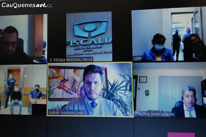 #Cauquenes: Por microtráfico reiterado tres imputados quedan en prisión preventiva