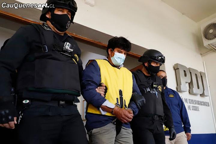 Imputado por dar muerte a su pareja en Ninhue fue trasladado a cárcel de Cauquenes