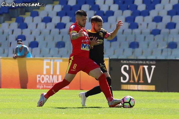 Independiente de Cauquenes no pudo contra Fernández Vial