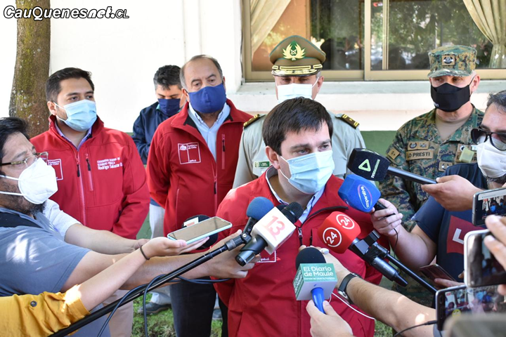 Intendente Prieto presentó querella criminal por atentado a Comisaría en Talca