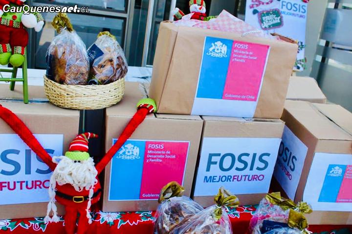 FOSIS entregará cajas navideñas con alimentos a 3 mil 500 hogares vulnerables de todo el Maule