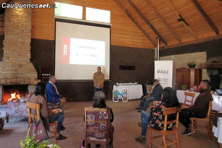 CRDP trabajó con comunidades de 4 territorios productivos en el Maule