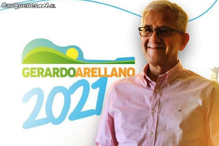 Gerardo Arellano agradeció apoyo pese a que su candidatura por alcaldía de Cauquenes no prosperó