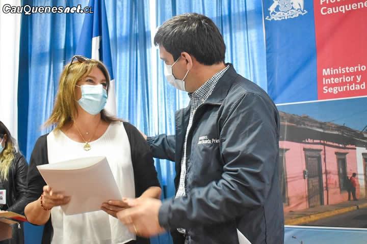Organizaciones sociales de Cauquenes recibieron fondos para invertir en seguridad ciudadana