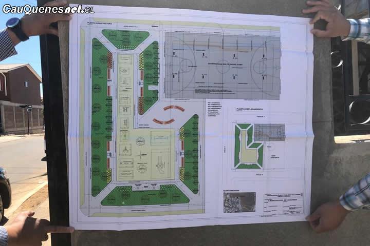 Comienzan trabajos de construcción de plazoleta en Villa Las Brisas de #Cauquenes