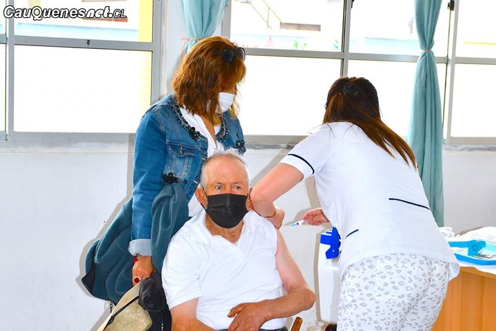 #Pelluhue es la segunda comuna con mejor desempeño en proceso de vacunación contra el Covid-19 en el Maule