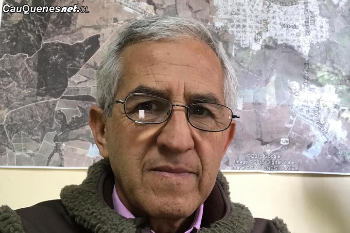 Gobernador de Cauquenes  presentó a Gerardo Arellano como nuevo Coordinador de la Mesa Forestal