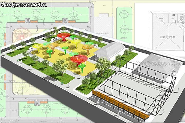 Municipio de Cauquenes se adjudicó proyecto de mejoramiento de área verde y multicancha en Alto Porongo