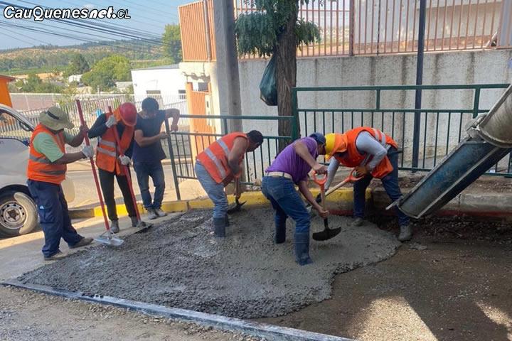 Municipio de Cauquenes informó que habrá un nuevo proceso de reparación de calles
