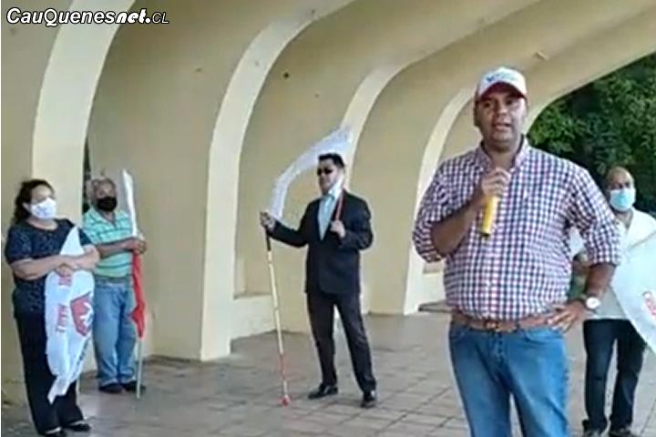 Reapareció Verdugo: El excandidato DC Respaldó a aspirantes a concejales del Partido Radical