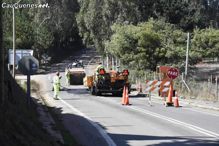 En #Pelluhue inician trabajos de la ruta Cardonal a Chovellén y Quinta Chile a Las Pocillas