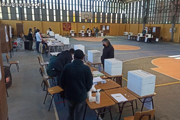 #Elecciones2021: Comenzó la histórica jornada en #Cauquenes, #Chanco y #Pelluhue
