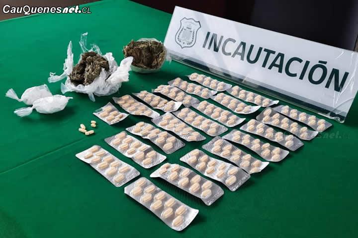 #Gendarmería logró impedir ingreso de drogas al Penal de #Cauquenes a través de la técnica del pelotazo
