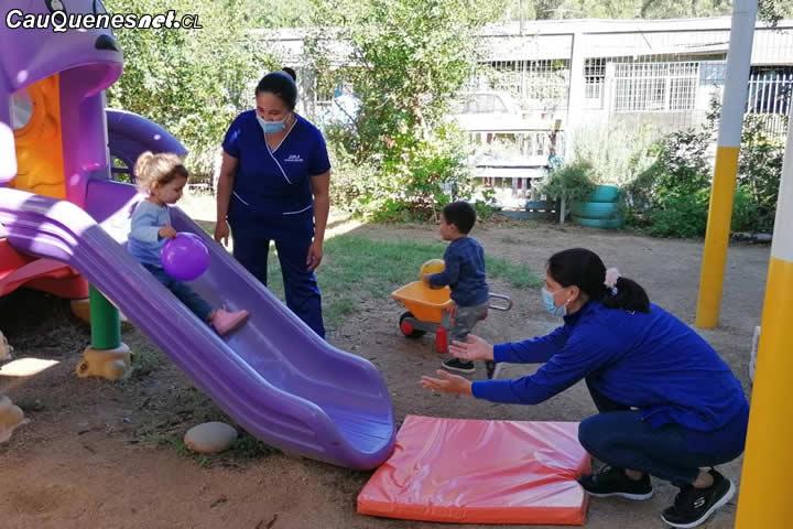 Jardines infantiles de la Junji retoman actividades presenciales este lunes 26