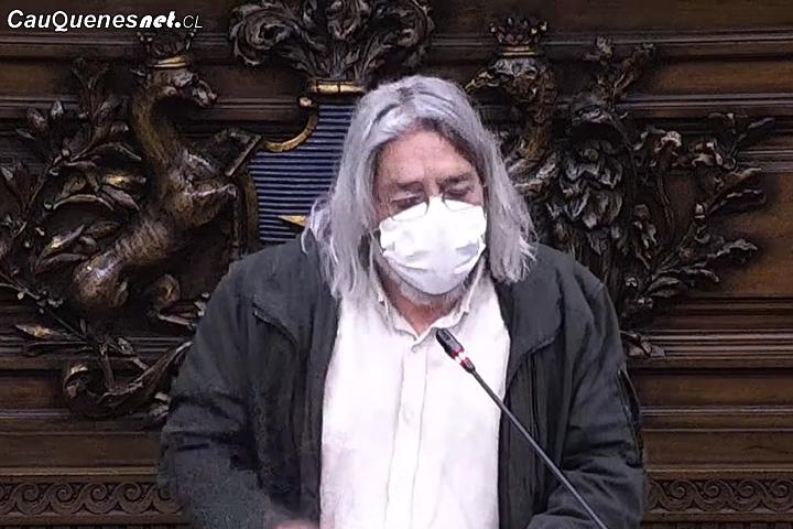 """Convencional Fernando Salinas: """"Necesitamos impregnar a toda la Constitución con un paradigma ecológico y que la naturaleza sea sujeta de derecho"""""""
